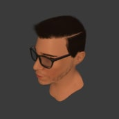 Autoretrato 3D. Un proyecto de Modelado 3D de Daniel Martínez - 13.12.2019