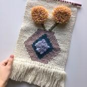 Mi Proyecto del curso: Tejido de tapices en telar de alto lizo. Um projeto de Tecido de María Hernández - 10.11.2020
