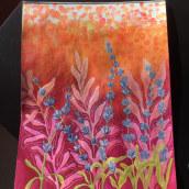 My project in Negative Watercolor Painting for Botanical Illustration course. Un progetto di Animazione 2D di tetianachvalunova - 12.11.2020