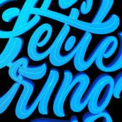 This is Lettering . A Grafikdesign, Kalligrafie, Lettering, Kreativität, H und Lettering project by Eduardo Mejía - 13.11.2020