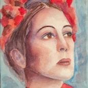 Mi Proyecto del curso: Retrato artístico en acuarela. Un progetto di Illustrazione, Pittura, Pittura ad acquerello , e Disegno di ritratto di Javier Ramírez - 16.11.2020
