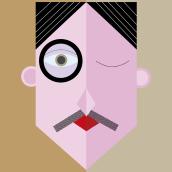 Meu projeto do curso: Ilustração digital com formas geométricas para principiantes. Un progetto di Illustrazione di Daniel Duarte - 17.11.2020