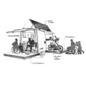Convertidores Nissan. Un proyecto de Ilustración digital y Dibujo digital de Héctor López - 01.01.2019
