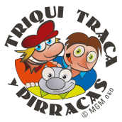 Triqui, Traca y Pirracas. Personajes cómic.. Un proyecto de Ilustración, Animación y Cómic de Miguel Gosálvez Mariño - 20.07.2016