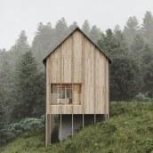 Haus Am Stürcherwald in Austria // CGI. Un progetto di 3D, Architettura , e Fotografia architettonica di Alberto Luque - 19.11.2020