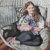 Commision portrait. A Oil painting project by Ale Casanova - 11.20.2020