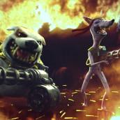 War Dog. Un progetto di 3D , e Animazione 3D di Carlos Sifuentes Haro - 20.11.2014