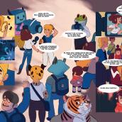 Comic Badana. Un proyecto de Ilustración, Diseño de personajes, Cómic, Dibujo y Dibujo digital de Pablo Broseta - 21.11.2020