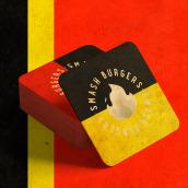 HOT Smash Burger. Un projet de Direction artistique, Br, ing et identité, Design graphique , et Créativité de Gabriel Sena Martins - 08.10.2020