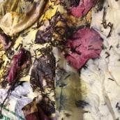 Mi Proyecto del curso: Impresión botánica en textil y papel. A Costume Design project by Beatrix Prieto - 11.27.2020