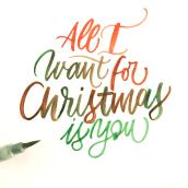 Mi Proyecto del curso: Caligrafía itálica con brush pen. Um projeto de Caligrafia, Lettering, Caligrafia com brush pen, H e lettering de Lorena Duarte - 28.11.2020