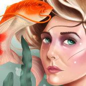 Sushigirl. Un proyecto de Ilustración digital de Luis Robledo - 29.11.2020