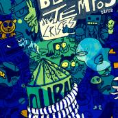 Bloco em tempos de Crise. Um projeto de Desenho de Gabriel Alipio - 10.02.2010
