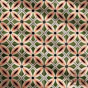 Hand painted traditional Portuguese tiles - Anselmo Braancamp 637. Un projet de Design d'intérieur, Peinture , et Céramique de Gazete Azulejos - 30.11.2020
