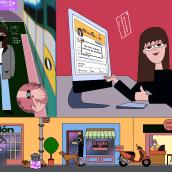 Tot anirà bé. Un proyecto de Ilustración, Cómic, Dibujo, Ilustración digital, Diseño digital, Dibujo digital e Ilustración editorial de Sonia Cabré - 30.11.2020