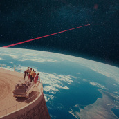 """Videoclip """"Cosmos"""" de """"Love of Lesbian"""". A Animation, Art Direction, and Collage project by Joseba Elorza - 12.02.2020"""