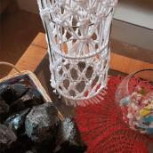 Mi Proyecto del curso: Diseño de accesorios en macramé. Un proyecto de Macramé de María Elena Sánchez Roldán - 03.12.2020