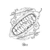 Ozz / Alta pastelería a domicilio. A Illustration, Br, ing & Identit project by Arutza Rico Onzaga - 04.04.2020