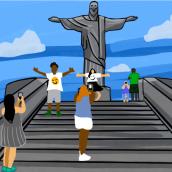 Cristo Redentor - Rio de Janeiro - Brazil. Um projeto de Animação de Fabio Gonçalves Coutinho - 05.12.2020
