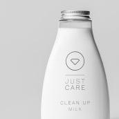 Just Care. Un proyecto de Dirección de arte, Br, ing e Identidad, Packaging, Naming y Diseño de logotipos de Víctor M. Pérez Navarro - 06.12.2020