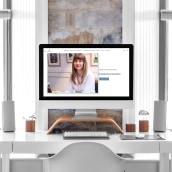 Nerea Kortabitarte. Um projeto de UI / UX, Design gráfico, Web design e Desenvolvimento Web de Maite Diez - 08.12.2020