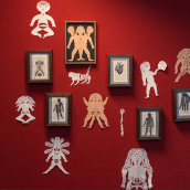 Wild Women Paper Cuts. Un projet de Illustration, Beaux Arts , et Papercraft de Karishma Chugani - 09.12.2020