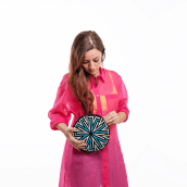Proyecto final 2º curso Tapestry circular: Diseña patterns y complementos de moda. Un progetto di Artigianato, Design Pattern, Fashion Design, Fashion Design, Cucito , e Tintura tessile di Poetryarn - 10.12.2020