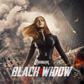 Black Widow Fan Art. A Photo retouching project by soliloqui0 - 12.01.2020