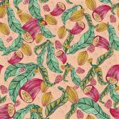 Meu projeto do curso: Motivos para repetir. Um projeto de Design, Pattern Design e Ilustração têxtil de Alessandra Bellard - 15.12.2020