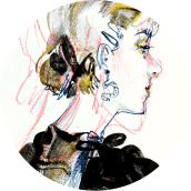 Lifedrawing Practice. Un proyecto de Ilustración, Dibujo, Dibujo artístico y Dibujo anatómico de Connie Lim - 16.12.2020