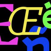 Discórdia Typeface. Un proyecto de Tipografía y Diseño tipográfico de Álvaro Franca - 19.12.2020