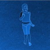 Chapuzón. Rotoscopia: dibuja una animación frame a frame. Prof. Gonzalo Cordero de Ciria. Um projeto de Animação de Maia Ferro - 22.12.2020