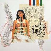 Bodice design inspired by Frida Kahlo. A Fashion, Creativit, Fashion Design, Portfolio Development, Printing, Sewing, Fiber Arts, Textile D, and eing project by Rhiannon Furness - 12.23.2020