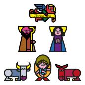 ¡Feliz Navidad!. Un projet de Design , Animation , et Dessin de Cruz Novillo & Pepe Cruz - 24.12.2020