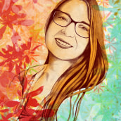 Mis retratos ilustrados con Procreate. Un proyecto de Ilustración, Ilustración digital e Ilustración de retrato de Ricardo Aliaga Román - 26.12.2020
