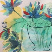 Proyecto creación de paletas de color. Um projeto de Ilustração, Pintura em aquarela e Teoria da cor de Isabel Molla - 26.12.2020