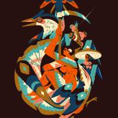 ALADOS 8. Un projet de Design , Illustration, Direction artistique, Beaux Arts et Illustration éditoriale de Profe - 10.12.2020