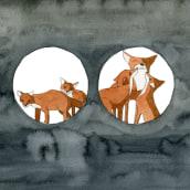 Tina Tannenbaum . Un progetto di Illustrazione , e Pittura ad acquerello di Lena Tamini - 27.12.2020