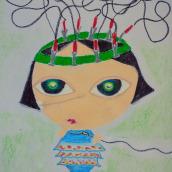 Mi Proyecto del curso: Cucú (la verdadera historia de Iris Akari). A Creativit, and Creating with Kids project by Maria Carbó Ponce - 12.30.2020