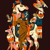 Temple. Un projet de Design , Illustration, Direction artistique, Beaux Arts et Illustration éditoriale de Profe - 26.12.2020