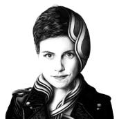 Mi Proyecto del curso: Retrato realista con bolígrafo. A Illustration project by Joaquín Rodríguez - 12.31.2020