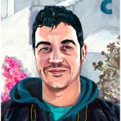 Nuevo proyecto curso: Retratos pictóricos con técnicas digitales. A Portrait Drawing, and Digital Drawing project by César García Pino - 01.02.2021