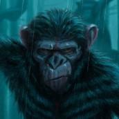 Dawn of the Planet of the Apes. Um projeto de Ilustração e Ilustração digital de Elysa Castro - 02.01.2021