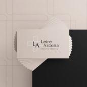 Farmacia Leire Azkona. Um projeto de Br, ing e Identidade e Design de logotipo de Maite Diez - 04.01.2021