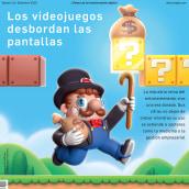 Retina - El pais - Cover. Un proyecto de Ilustración, 3D, Diseño de personajes, Modelado 3D, Concept Art, Diseño 3D e Illustración editorial de zinkete - 04.01.2021