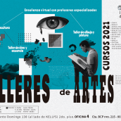 Mi Proyecto del curso: Collage digital para campaña de talleres de arte. . Um projeto de Ilustração digital de Rafael Meléndez - 06.01.2021