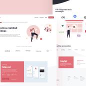 Mimotic • Hacemos realidad tus ideas. Um projeto de Web design e Desenvolvimento Web de Elastic Heads - 07.01.2021