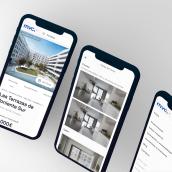 Metrovacesa. Um projeto de Web design e Desenvolvimento Web de Elastic Heads - 07.01.2021