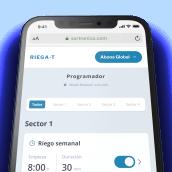 RiegaT - Smart Watering System. Um projeto de Web design e Desenvolvimento Web de Elastic Heads - 07.01.2021