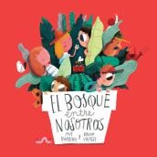 El bosque entre nosotros / Castillo. A Illustration, Digitale Illustration und Kinderillustration project by Bruno Valasse - 01.09.2018